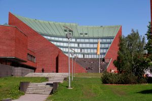 Logo of Aalto University