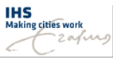 Logo of Institute for Housing and Urban Development Studies of Erasmus University Rotterdam (IHS)
