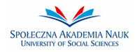 Logo of University of Social Sciences in Lodz
