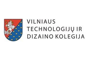 Logo of Vilnius College of Technologies and Design (VTDK)