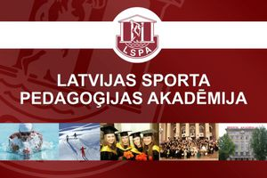 Logo of Latvian Academy of Sport Education (LSPA)