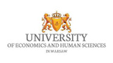 Logo of University of Economics and Human Sciences in Warsaw