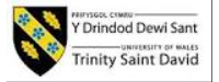 Logo of University of Wales Trinity Saint David