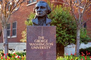 Logo of The George Washington University