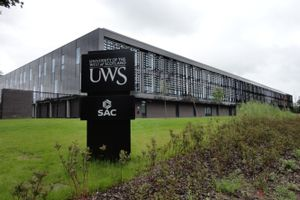 Logo of University of the West of Scotland
