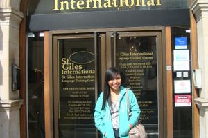 Logo of St Giles International *** (3)