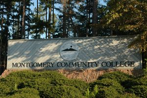 Logo of Montgomery Community College