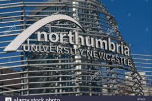Logo of Northumbria University Newcastle