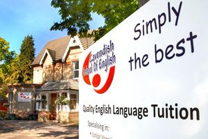 Logo of Cavendish School of English ***